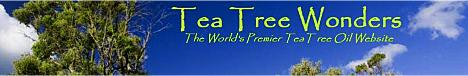 www.teatreewonders.com and the wonders of tea tree oil