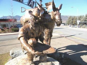 49'er Miner in Yreka, Ca.